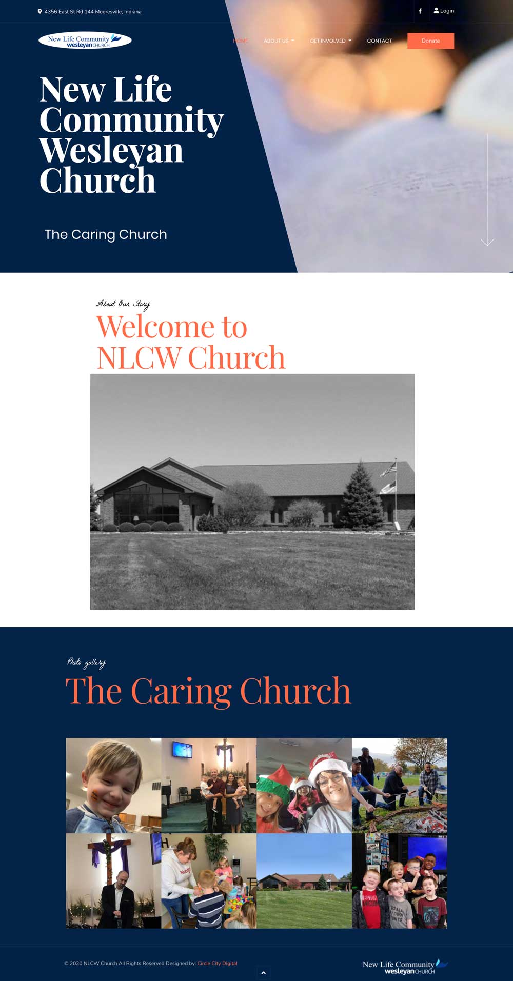 new life community wesleyan church website